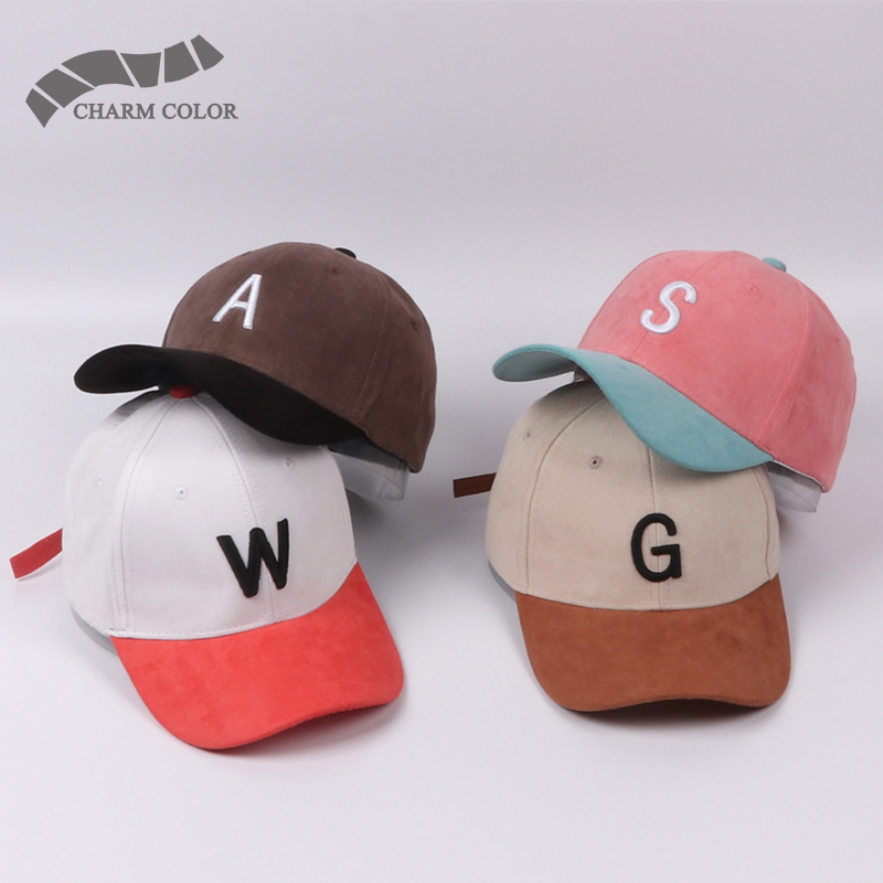 New spring Baseball Cap Women Fashion Brand Street Hip Hop Caps Suede Hats for Ladies Pink White Black Blue Baseball Cap 2017 2016 new new embroidered hold onto your friends casquette polos baseball cap strapback black white pink for men women cap