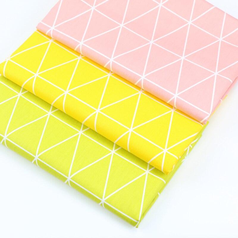 100% хлопок ткань по полметра для квилтинга одежда для малышей детские постельные принадлежности лоскутное ткани домашнего текстиля швейной...
