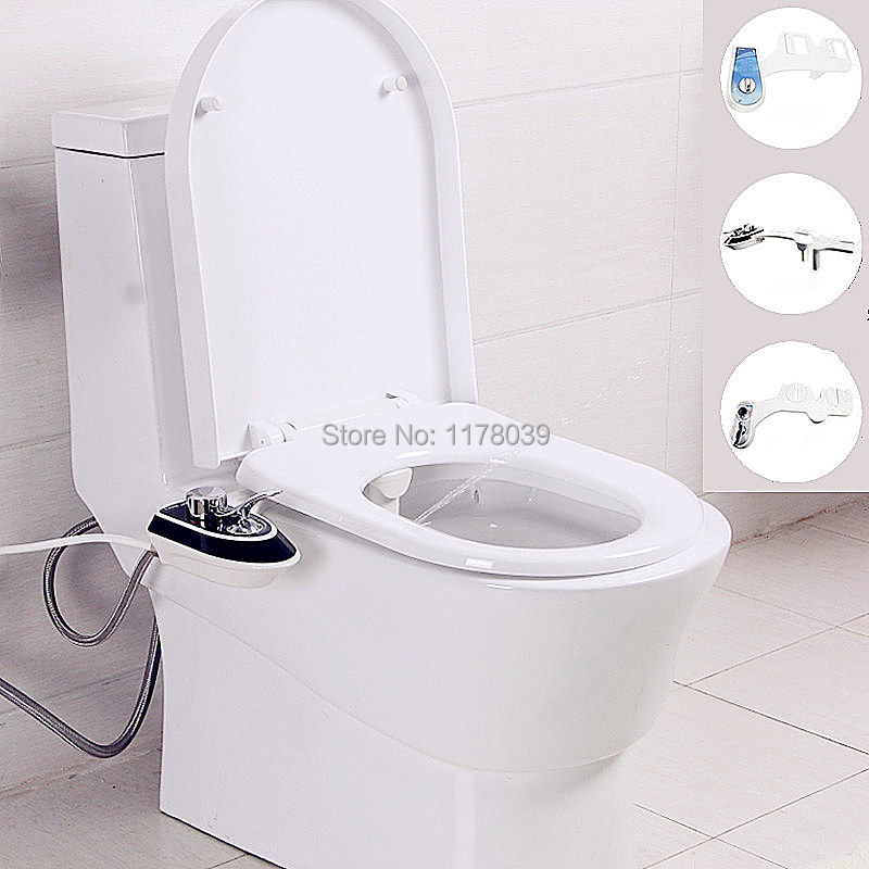 Luxurious Hygienic No electricity Smart Toilet Seat Bidet Portable Toilet ABS Bidet Shower Wash the ass