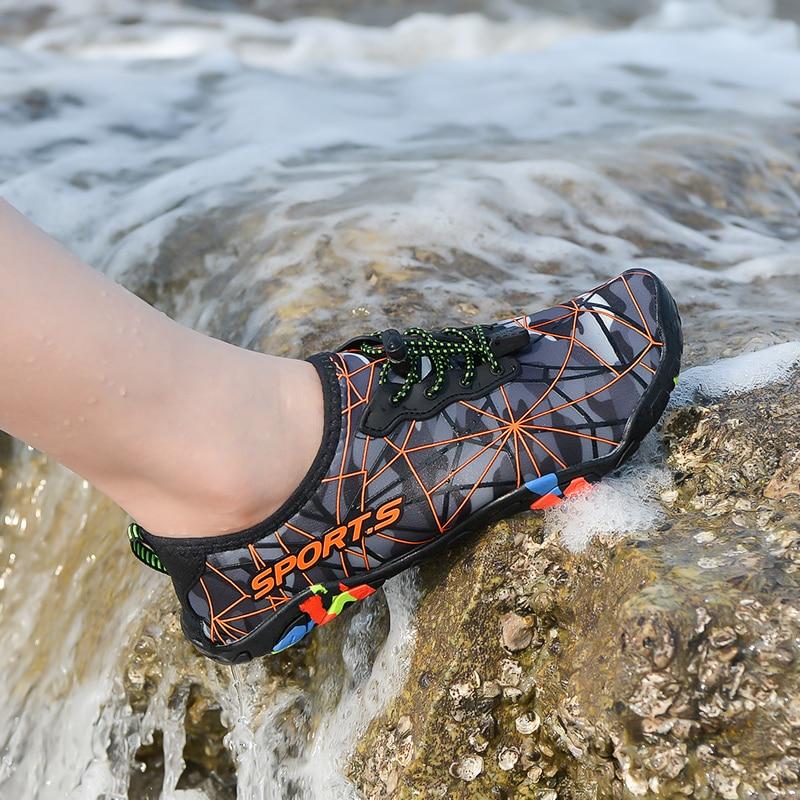 Men Summer Beach Shoes Outdoor Women Water Swimming Shoes Quick-Drying
