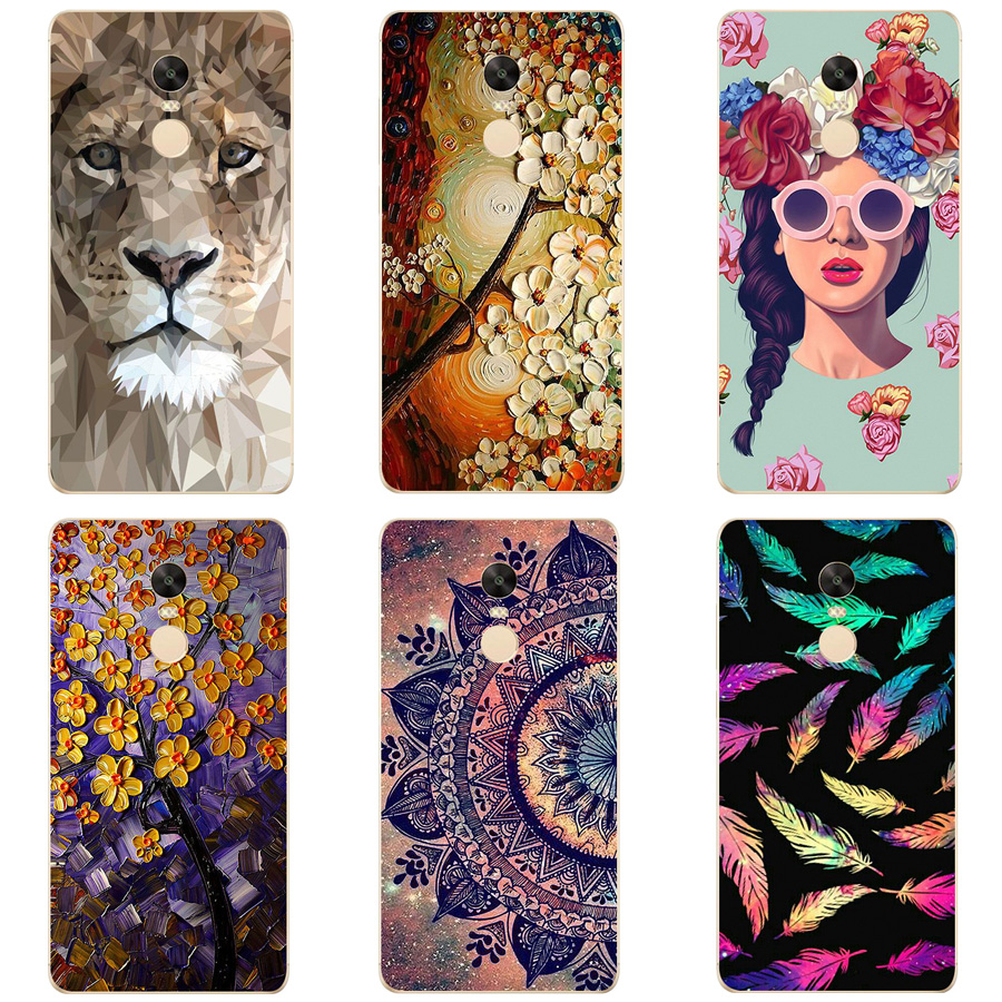 Cover For Xiaomi Redmi Note 4X Case 5.5 inch TPU Back Cover Phone Case For Redmi Note 4X 4 X Case Soft Silicone Cover Fundas
