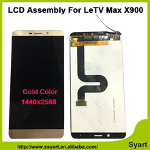 High quality White Gold Coor 6 33 inch LCD Display Touch Screen Glass Digitizer Assembly replacement