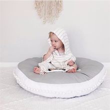 90*90CM Baby Crawling Mat Cotton Thick Play Pad Children Play Rug Round Game Mats Tent Blanket Infant Kids Room Floor Carpet цены онлайн