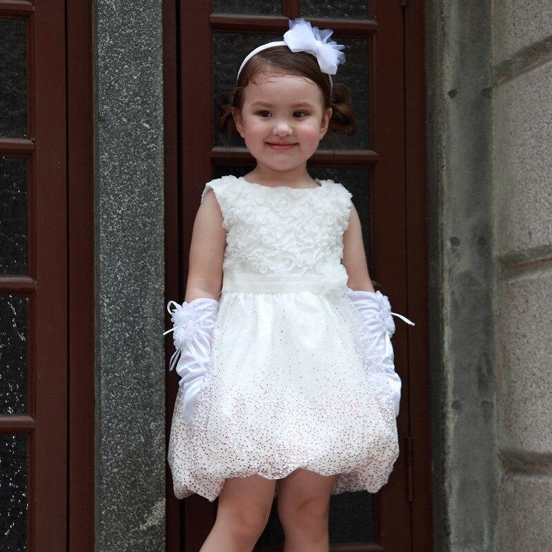 Белые платья для девочек 2 года