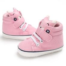 48f90b178b95 Autumn Winter Baby Boy Girl Shoes Neonatal baby Cute Fox Soft Bottom  Toddler Shoes zapatitos para bebe Baby First walk Shoes