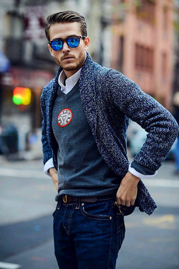 men's casual clothing - 736×1102