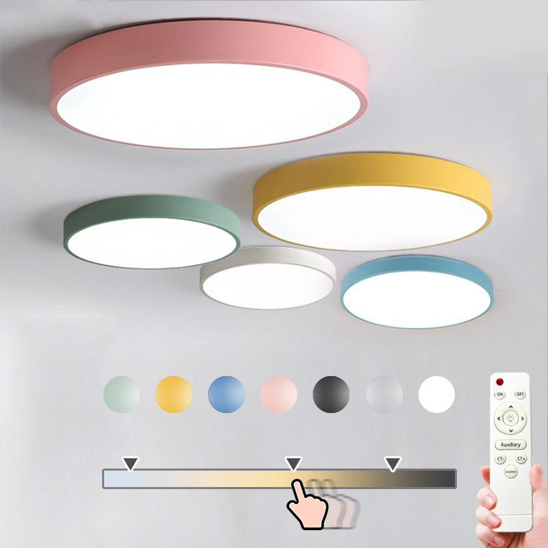 room lamp after balcony iron round lamp kitchen color deco child room nordic ceiling lamp with remote control led light fixtureroom lamp after balcony iron round lamp kitchen color deco child room nordic ceiling lamp with remote control led light fixture
