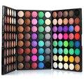 Nueva Shimmer Mate Paleta Sombra de ojos 120 Colores de Resaltado de Polvo Impermeable Duradera Maquillaje Belleza sombra de Ojos Cosméticos Fijaron I214
