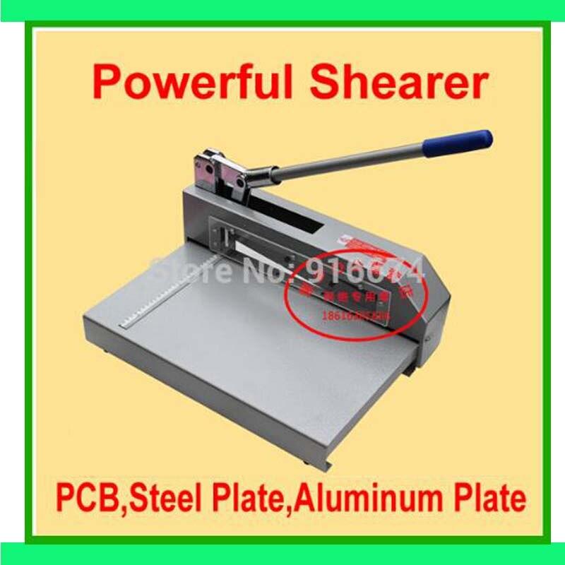 Быстрая Бесплатная доставка Мощный ножничный нож бумажный резак печатная плата стальная пластина ножницы для резки алюминиевого листа MachineFilm