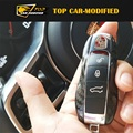 Free shipping 100% Real Carbon Fiber Remote Smart Key Fob Holder Cover For Porsche Macan,Cayenne and panamer a