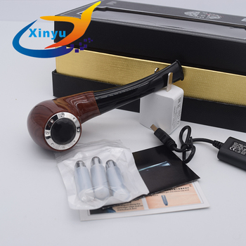 e Pipe Mod Wooden e Pipe Electronic Cigarette vape 628 Kit with 2pcs