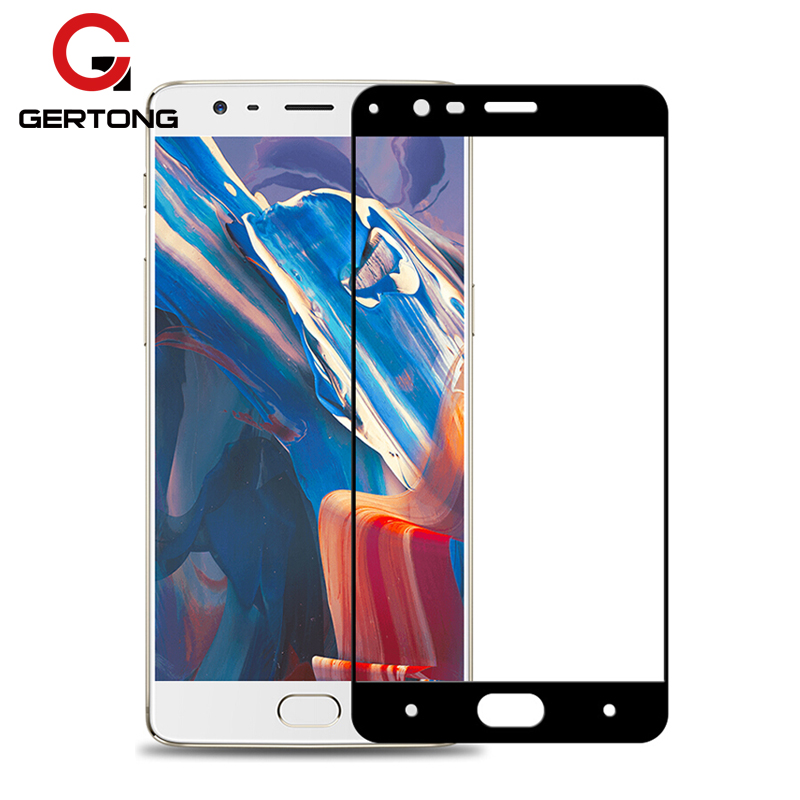 2.5D Full Cover Tempered Glass For Oneplus 5 5T 3 3T 7 6 6T Screen Protector For One Plus 5 5T 1+7 A5000 Premium Protective Film