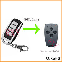 High Quality Duplicator Marantec D304 Remote Control 868 3MHz With Battery