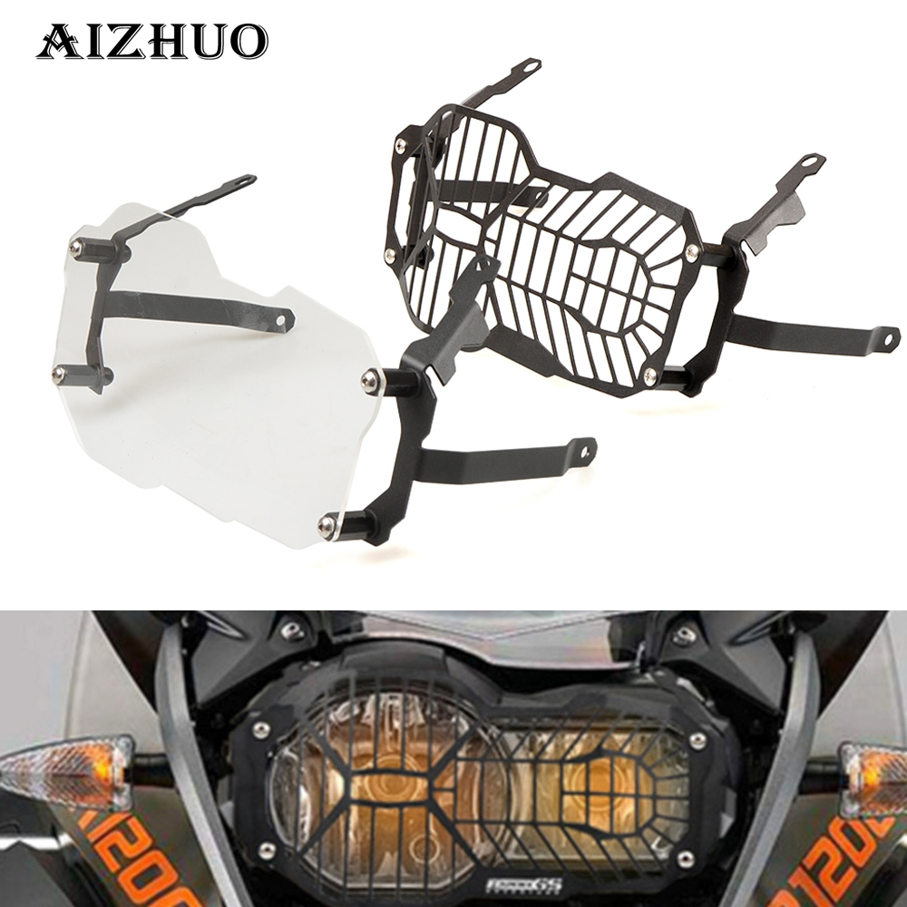Motorcycle Headlight Protector Cover Clear Grid For BMW R1200 GS R1200 GS Adventure R 1200GS 2012 2013 2014 2015 2016 2017 2018