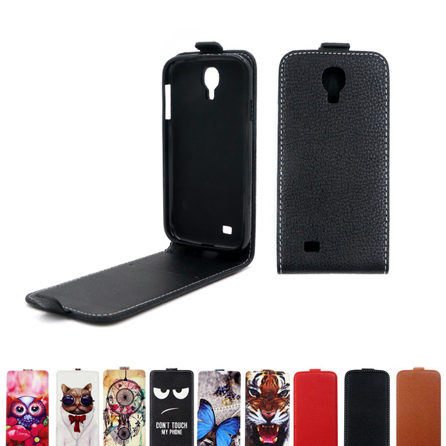 Flip Leather Case for Samsung Galaxy S4 I9500 I9505 I9515 VE soft TPU cover for Samsung Galaxy S4 LTE GT-I9505