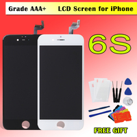 1PCS AAA 100 Tested Display For IPhone 6S LCD Touch Screen Digitizer Repair Parts 4 7