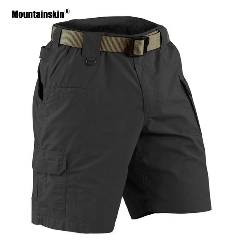 Mountainskin Men's Summer Outdoor Sports Hiking Shorts Leisure Trekking Camping Running Loose Male Climbing Short Trousers VA442