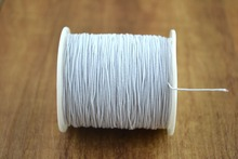 White Elastic Thread 0.05mm household thread  from sewing suppliers Free shipping.