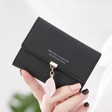 Angelatracy 2019 New Arrival Pure Solid PU Leather Card Package Tassel Women Coin Accordion ID Set Credit Holder CardHolder
