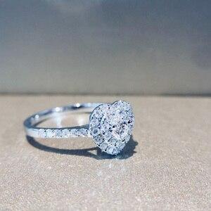 Image 5 - Naturalny diament 18K złoto czysty złoty pierścień piękny kamień pierścień dobry ekskluzywny modny klasyczny Party Fine Jewelry gorący bubel nowy 2020