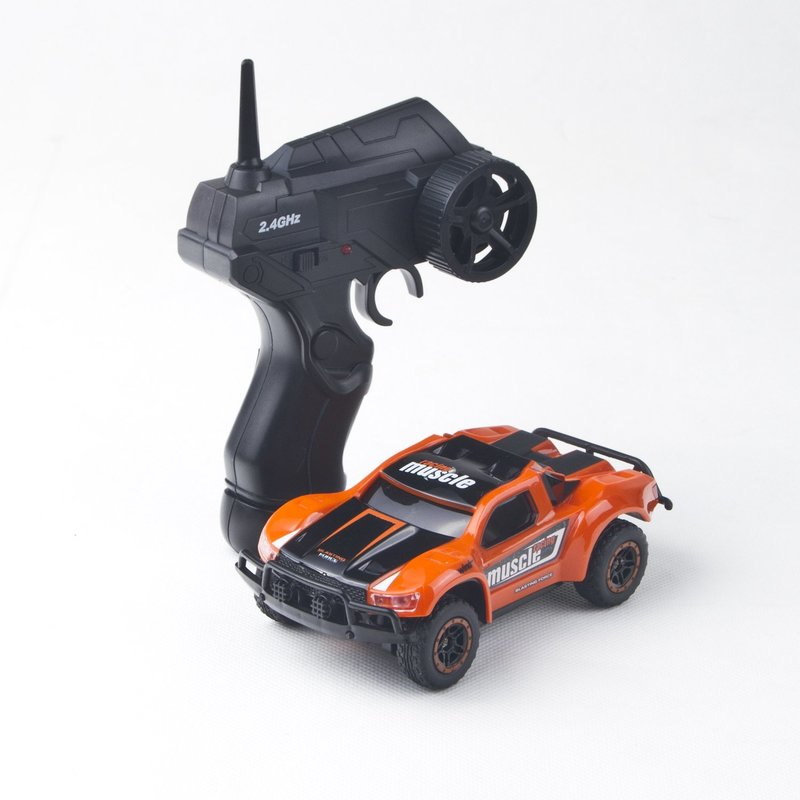 Image 4 - Radio Remote Control Mini RC Car 1/43 Scale 2.4Ghz 14KM/H High Speed RC Rock Crawlers Car Model Vehicle Toys for Children-in RC Cars from Toys & Hobbies