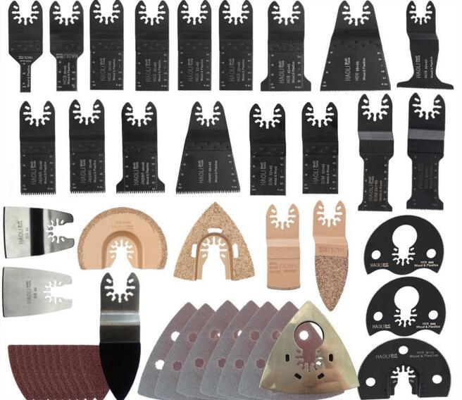 228 PCS Oscillating multi Tool Saw Blade Accessories for Fein Multimaster power tool,FREE SHIPPING,metal cutting,segment blade 7 pcs set woodworking oscillating multitool saw blade for multimaster renovator power tool cutting hand tools free shipping