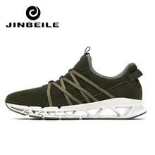 JINBEILE Super Cool Breathable Running Shoes For Men Sneakers Outdoor Professional Training Sport Zapatillas Nikee Shoe