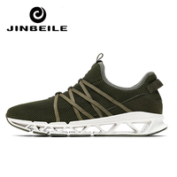 JINBEILE Super Cool Breathable Running Shoes For Men Sneakers Outdoor Professional Training Sport Shoes Zapatillas Nikee Shoe