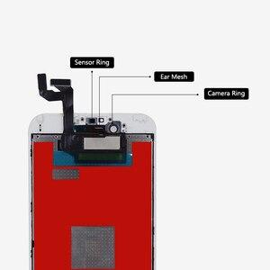 Image 3 - 10 adet sınıf AAA LCD ekran iPhone 6S için LCD değiştirme ve dokunmatik ekranlı sayısallaştırıcı grup ekran yok ölü piksel ücretsiz DHL