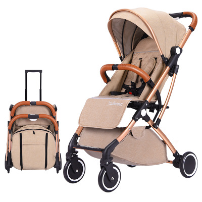 Baby stroller can sit reclining ultra light portable folding shock absorber baby pocket umbrellaBaby stroller can sit reclining ultra light portable folding shock absorber baby pocket umbrella