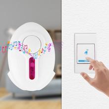 One for Two Wireless Door Bell DC Door Open 36 Chime Digital Smart Doorbell Home Entry Security Doorbell цены онлайн