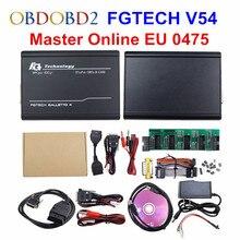 Master Online EU 0475 FGTech V54 Galletto 4 Chip completo, compatible con BDM, función completa Fg Tech V54 caja de sintonización con Chip ECU para automóvil OBD FG TECH