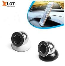 Universal Car Magnetic Phone Holder For iphone Samsung Stand Display 360 Degrees Rotation Holder Support Gps Dvr Holder