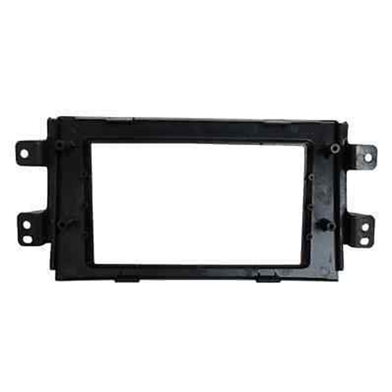 <font><b>Double</b></font> <font><b>Din</b></font> For <font><b>Suzuki</b></font> SX4 2007-2013 Frame Kit ABS Replacement Plastic Car image