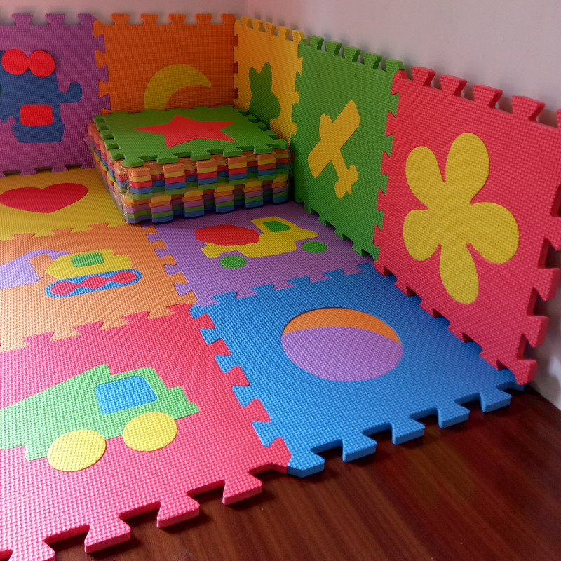 Pcs Baby Puzzle Carpet Play Mat Floor Eva Ren Foam Mosaic