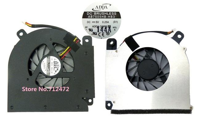 Novo ventilador de refrigeração da cpu para acer aspire 3690 5610 5610z 5630 5650 5680 Travelmate 4200 5200 5510 Extensa 5510 5512z AB7505HB-HB3