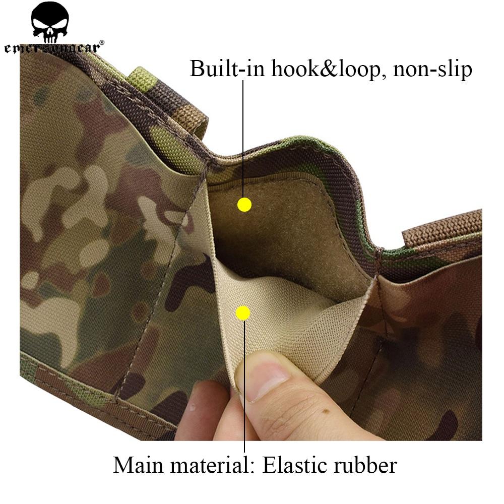 EMERSONGEAR Triple M4 Mag Pouch Tactical Molle Snabblastning Magazine - Jakt - Foto 2