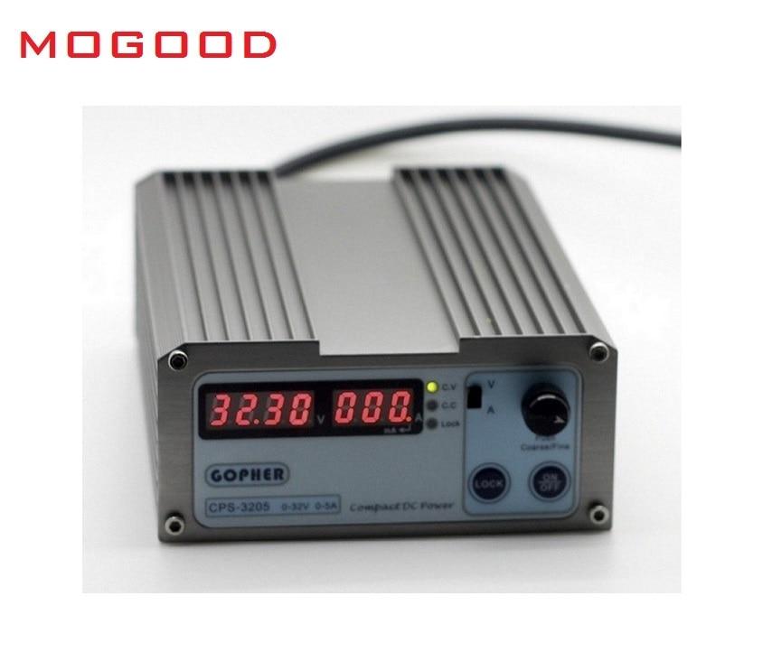 MoGood CPS-3205 AC110V/230V Input ,DC0-32V/0-5A Output, 160W ,Portable with Display Adjustable, Regulated DC Power Supply цены