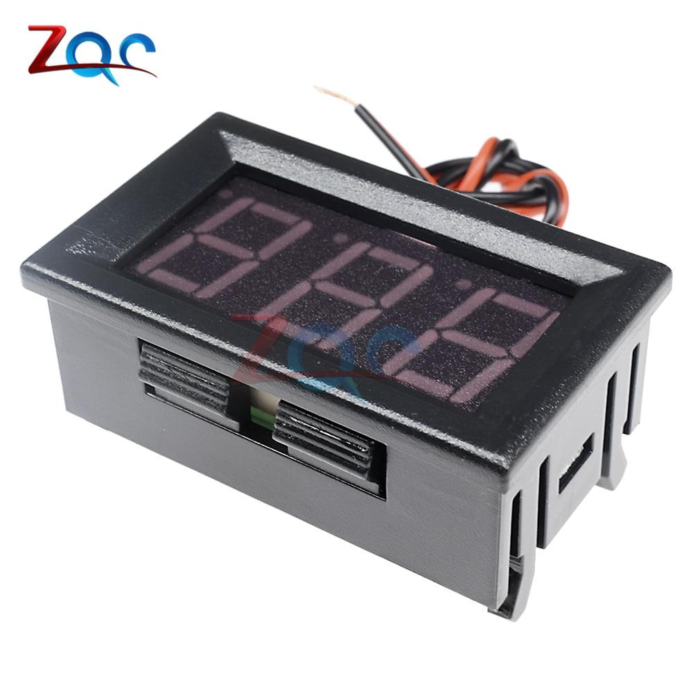 HTB1QKBnXgaH3KVjSZFpq6zhKpXap 0.56'' Mini LED Digital Voltmeter Detector DC 0-100V 12V 24V Voltage Capacity Monitor Volt Panel Tester Meter For Motorcycle Car