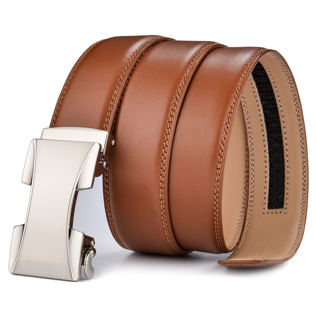 FIRE KIRIN Designer Leather Belt With Automatic Buckle
