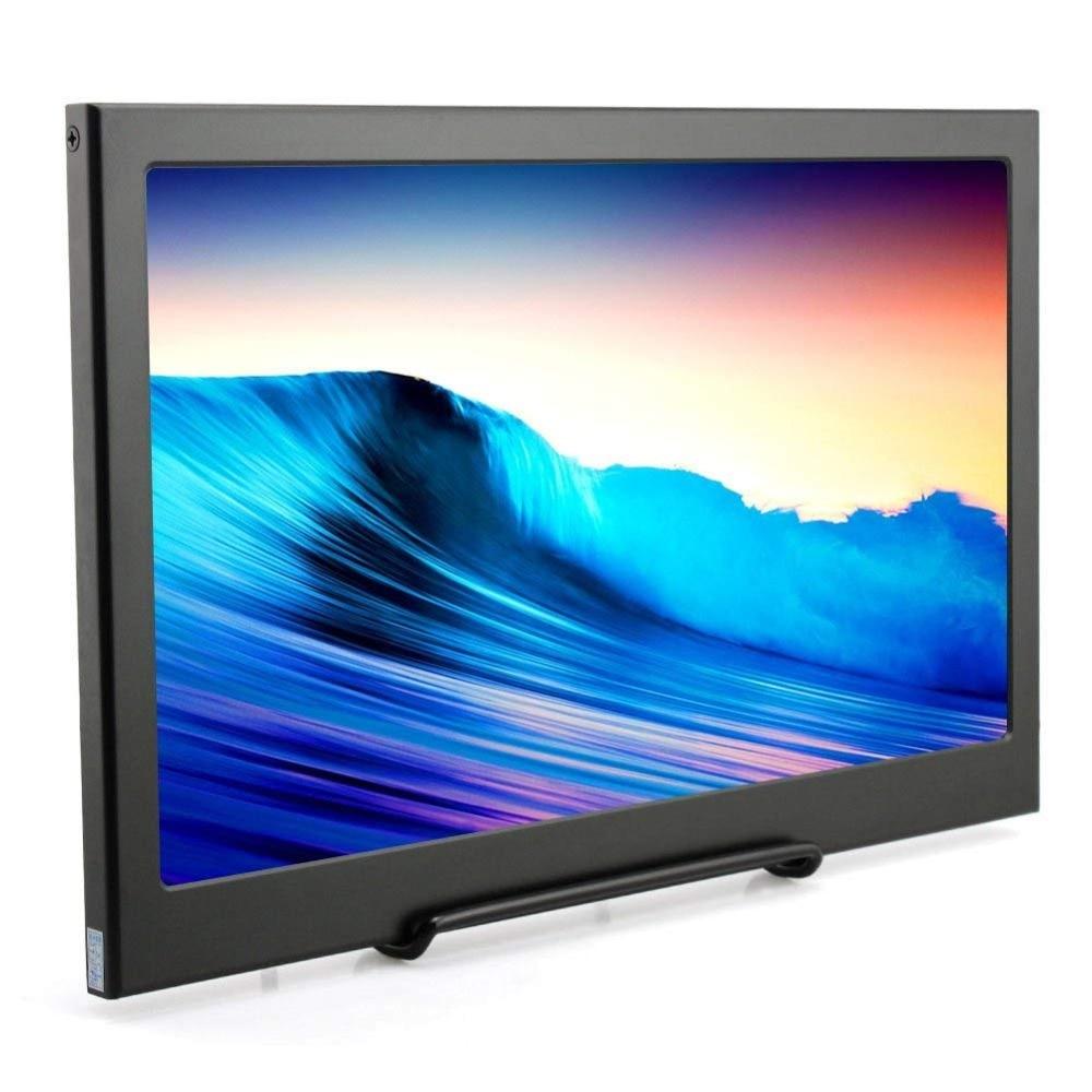 Moniteur de jeu Portable 15.6 pouces 1080P + HDR type-c HDMI LED moniteur d'affichage pour PS4/XBOX/Switch/PC/Samsung S8
