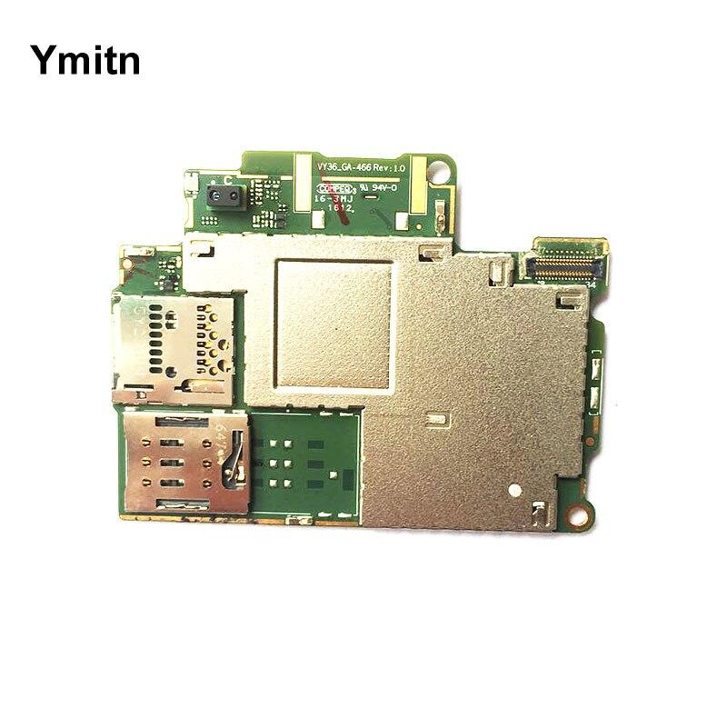 Ymitn Mobile Débloqué panneau Électronique carte mère Carte Mère Circuits Pour Sony xperia XA F3111 F3216 F3113 F3115 F3112 F3116