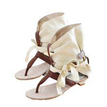 Big Size 34-43 Fashion Women Gladiator T-straps Flat Sandals Ladies Casual Flat Summer Shoes 2017 Brand New Rome Women Sandals
