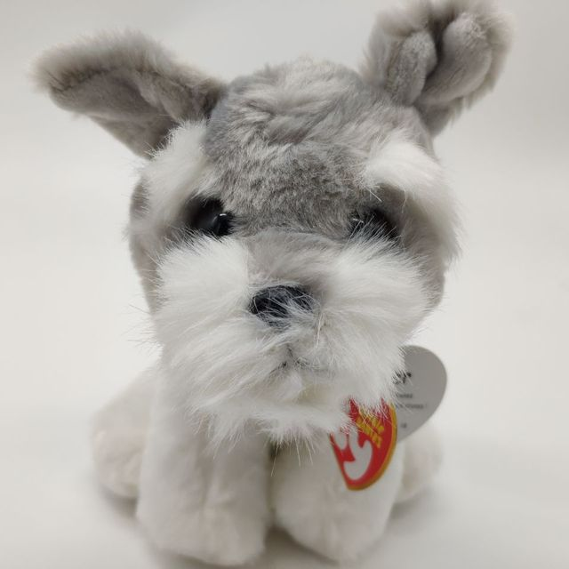 harper grey Dog with tag and label TY BEANIE BABIES 15CM Plush Toys Stuffed  animals children 6de0754b4395
