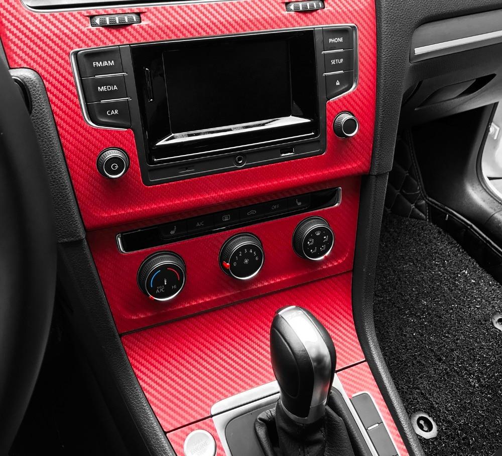 30x127cm 3D Carbon Fiber Vinyl Film Car Stickers Waterproof Car Styling Wrap Auto Vehicle Detailing Car accessories Motorcycle 2