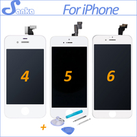 SANKA AAA For IPhone 4 A1332 4S 5S 5C 5 6 6Plus LCD Touch Screen Display