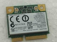 SSEA Atacado New original RaLink RT3290 RT3290LE RT3290LE-C2 Metade Mini PCI-E Cartão de 150 Mbps Wlan WI-FI Sem Fio Bluetooth BT