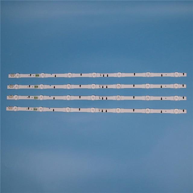 LED Array Bars For Samsung UE32J5500AK D4GE 320DC1 R1 D4GE 320DC1 R2 R3 2014SVS32FHD TV LED Backlight Strip Matrix Lamps Bands