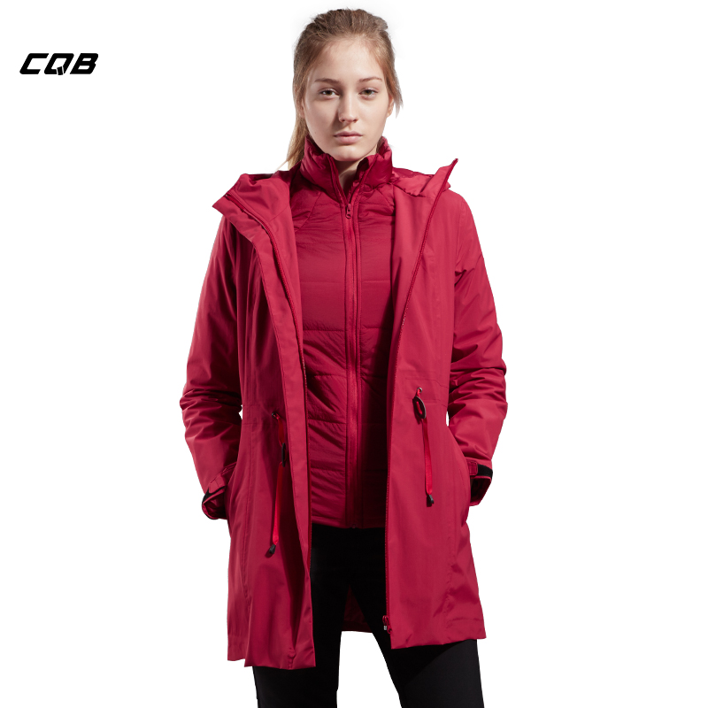 CQB Outdoor Sports Windbreaker Women Camping Thinsulate Two-piece set Winter Jacket Windproof Warm Jacket thirty two metcalf insulated jacket clay