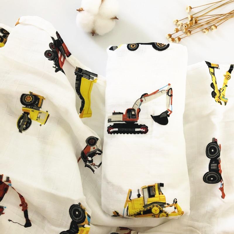 70% бамбуковое детское муслиновое одеяло для пеленания, качество лучше, чем Aden Anais, детское Многофункциональное большое одеяло для пеленок, детское одеяло - Цвет: ZM diaoche